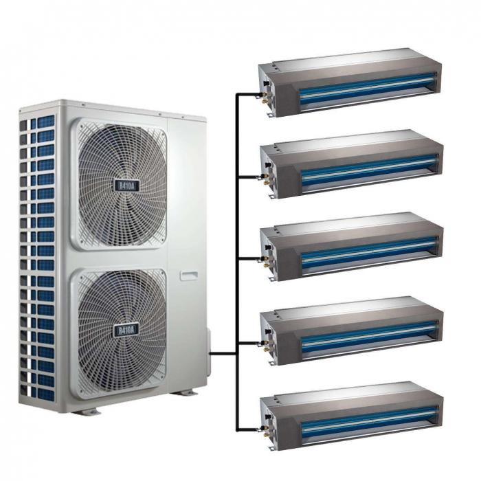 中央传统空调器的切管操作管理方法